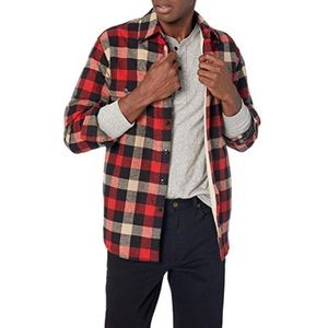 J. Crew Sherpa Lined Flannel Jacket